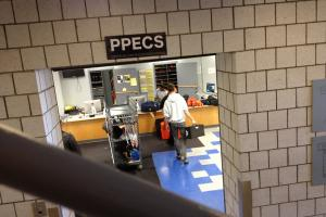 PPECS check out center