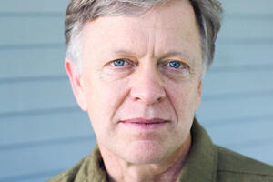 Headshot of literary journalist Ted Conover