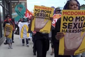 """I'm NOT on the Menu,"" a documentary about McDonald's and the #MeToo movement, was part of the ""Wages of Work"" program."