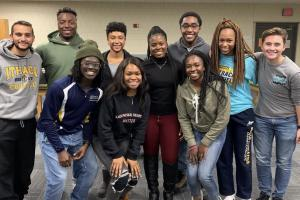 Group Photo of the IC Physical Therapy Students of Color Organization