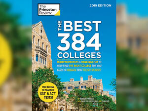 "Cover of ""The Best 384 Colleges"""
