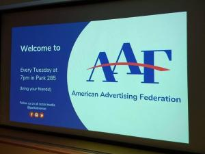 American Ad Federation Powerpoint slide
