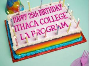 Ithaca College LA 25th anniversary
