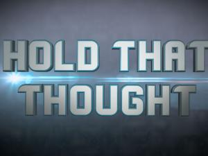 Hold That Thought logo
