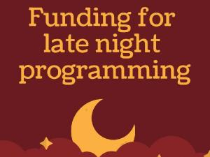 Campus Center Late Night Programming Grant