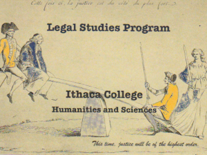 legal studies postcard