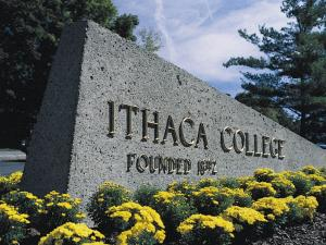 Ithaca College campus entrance