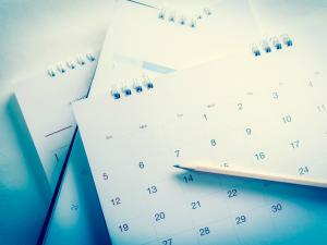 image of calendars