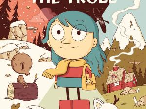 Hilda and the Troll cover