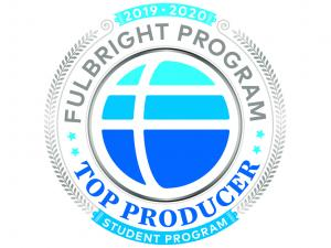 Fulbright Program Top Producer Logo