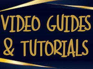 Video Guides & Tutorials