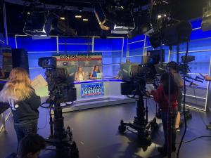 photo of the ithaca college television studio