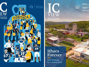 covers of ICView magazine