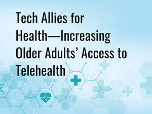 title: tech allies for increasing telehealth access