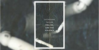 "The cover of ""You, Me, and the Violence."""