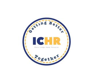 ILead program logo - circle with text stating getting better together and ICHR in the middle