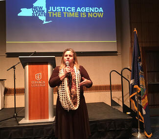 Kelli Owens presents the Women's Justice Agenda