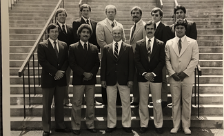 Photo of the 1982 Ithaca Football Coaches