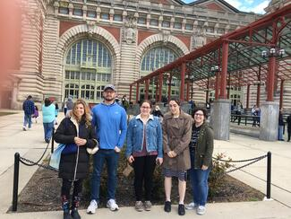 2019 Field trip to Ellis Island with students from ITAL 33000 The Italian Americans