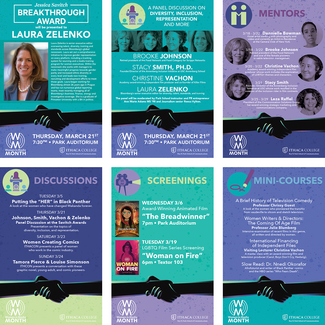 Posters for Women in Media Month