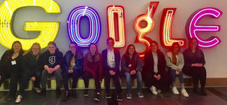 The IC Women in Computing Club at Google