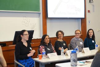 women in math day panel