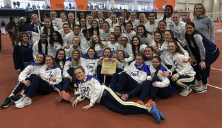 Women's Track and Field celebration.