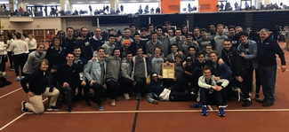 Men's Track and Field celebration
