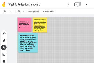 jamboard screen