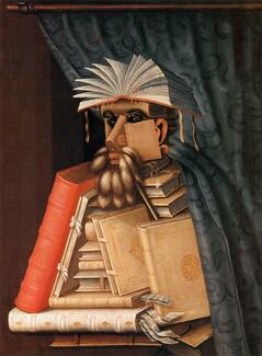 "Arcimboldo, ""The Librarian"""