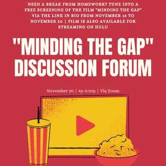 Minding the Gap Exclusive Screening and Community Forum