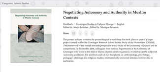 Negotiating Authority, cover