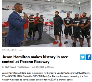 Jusan Hamilton - race executive