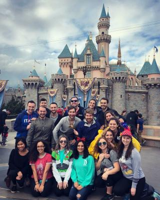 LA Alumni at Disney