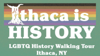 Ithaca Is History LBGTQ Walking Tour Poster