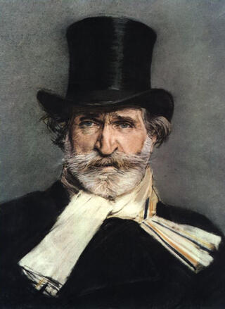 "Boldini, ""Portrait of Verdi"""