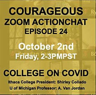 Courageous Zoom Action Chat
