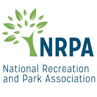 This is the logo for the National Recreation and Park Association. It has the picture of a tree next to the letters N, R, P, A and the full name of the organization written underneath.